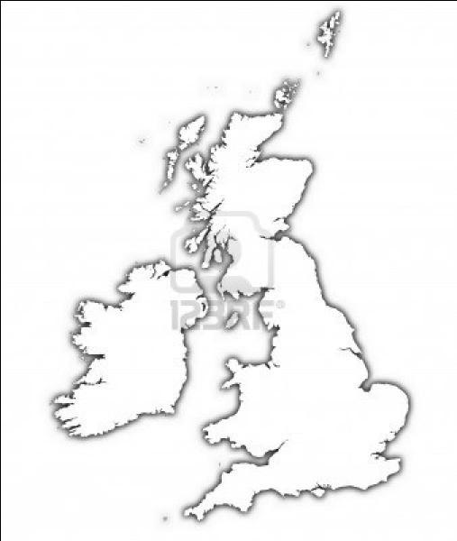 Quel pays figure sur cette carte muette ?