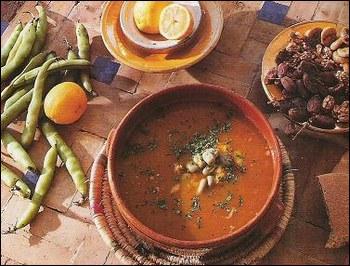 De quelle région est ce plat: La soupe de fèves
