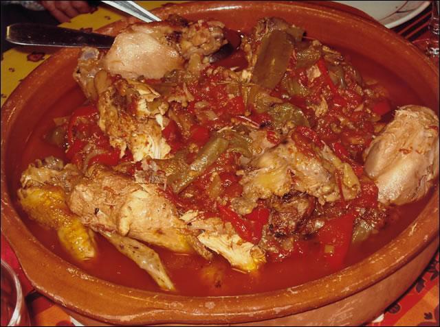 De quelle région est ce plat: : Le poulet basquaise