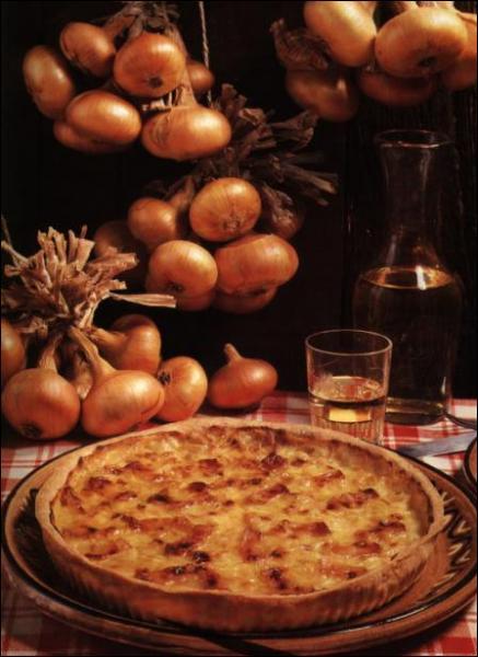 De quelle région est ce plat: : La tarte aux oignons