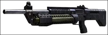 Et il s'appelle comment ce fusil à pompe ?