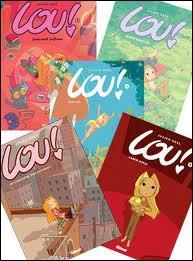 Qui est l'auteur de la bande dessinée  Lou !   ?