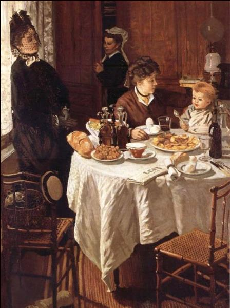 Peint en 1868 à l'âge de 28 ans dans sa période pré-impressionniste, développant une palette aux couleurs chaudes et éclatantes, ce  Déjeuner  est l'oeuvre de...