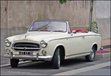Peugeot 403 Grand Luxe Cabriolet