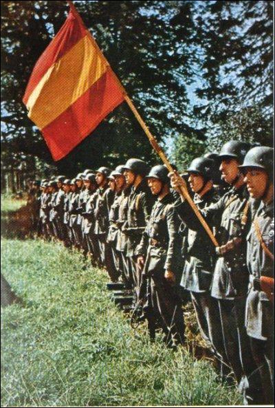 A quel camp l'Espagne a t-elle apporté son soutien durant la Deuxième Guerre mondiale ?