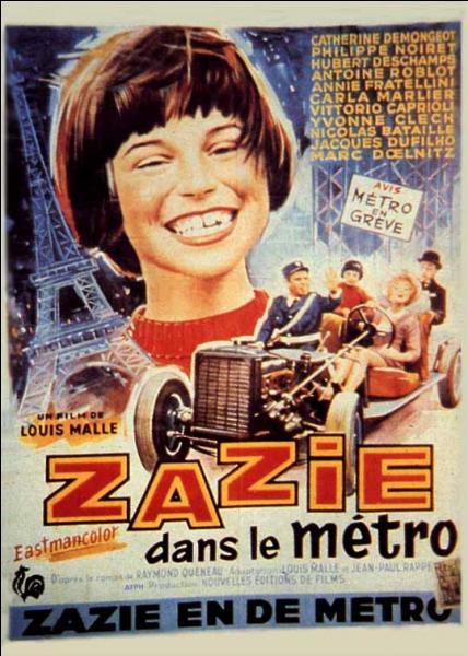 Zazie dans le métro fut mis à l'écran par ...