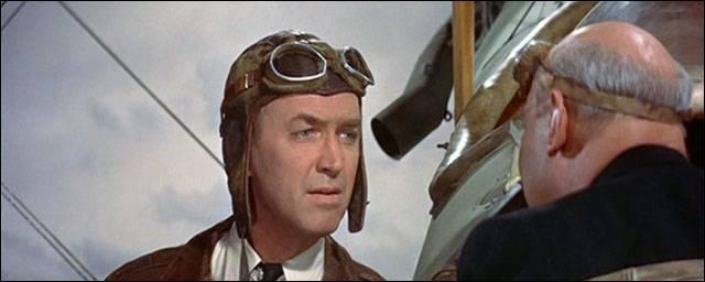 Quel célèbre aviateur a été interprété par James Stewart dans le film The Spirit of St Louis ?