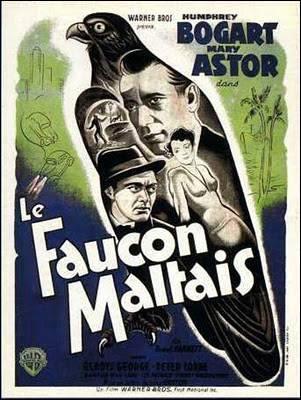 Qu'est-ce que le faucon maltais dans le film de John Huston, réalisée en 1941 ?