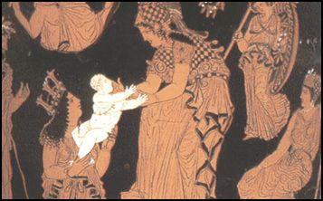 Athéna la vierge guerrière demanda à Héphaïstos de lui fabriquer des armes. Celui-ci voulut la violer, mais la tentative échoua. Cependant la terre fut fertilisée. Qui en émergea ?
