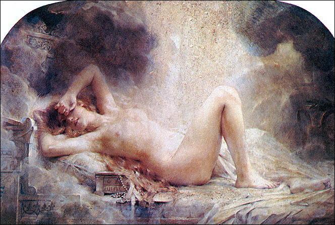 Épouses et maîtresses donnèrent de nombreux enfants à Zeus. Comment se transforma le dieu pour séduire Danaé la fille du roi Argos ?