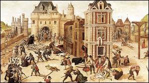 Quel souverain européen, partisan de la Réforme, a pris le deuil après ce drame ?