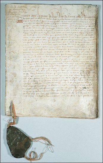 Quel édit Henri IV signe-t-il en 1598 ? Ce texte reconnait la liberté de culte aux protestants et met fin à la guerre des religions.