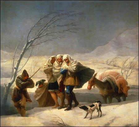 Peintre et graveur espagnol, né en 1746, il fut nommé peintre du roi d'Espagne en 1786, année où il réalise une série de cartons pour des tapisseries illustrant les quatre saisons dont  L'Hiver .
