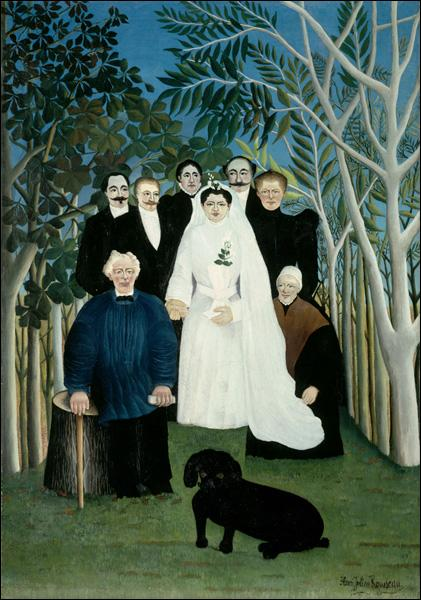 La Noce  (1905). A qui doit-on ce tableau exposé au Musée de l'Orangerie, portrait très solennel d'une famille, dont le chien trône au premier rang ?