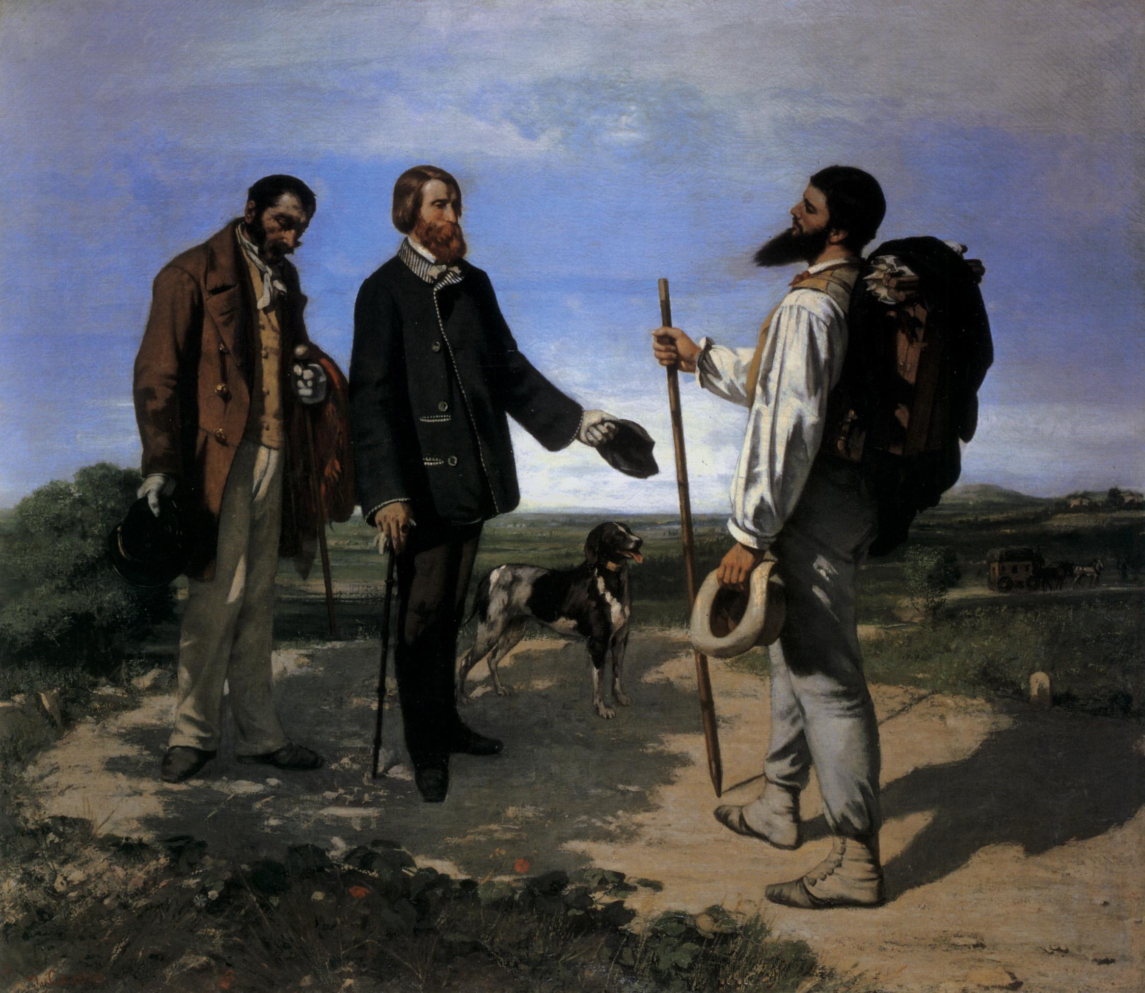 Les chiens et les peintres