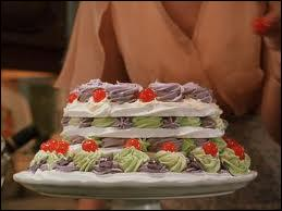 Qui abat un gâteau sur une invitée des Dursley ?