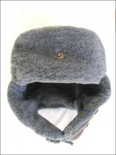 Chapeau traditionnel russe en fourrure de lapin ou de rat musqué, mais aussi de renard, de martre ou de mouton