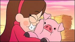 Quel est le nom du cochon de Mabel ?