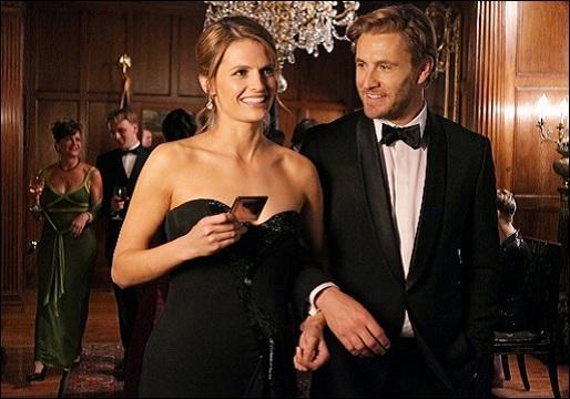 La jalousie, celle de Castle, est au coeur de cette autre enquête, où l'on voit Beckett en compagnie du très très charmant Colin Hunt, lequel est... ?