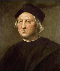 Il a découvert l'Amérique en 1492. C'est un navigateur gênois. Qui est-il ?