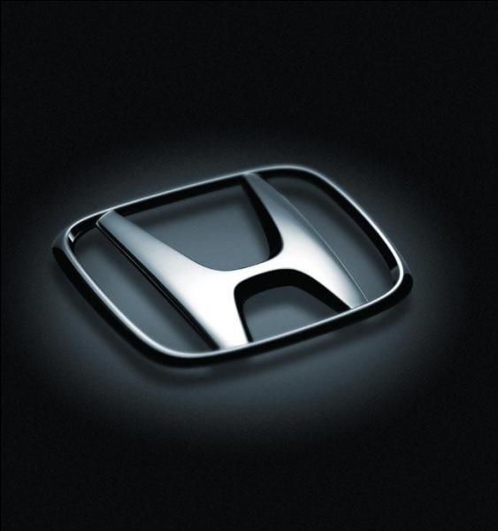 Ce logo de voiture est celui d'une Hyundai.
