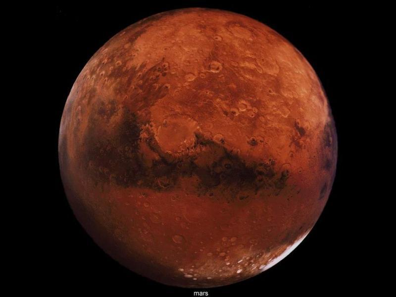 Mars est la troisième planète la plus proche du Soleil.