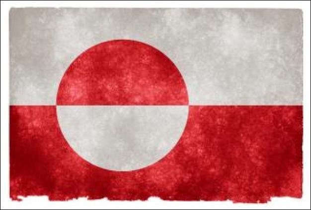 Ce drapeau est celui du Groenland.