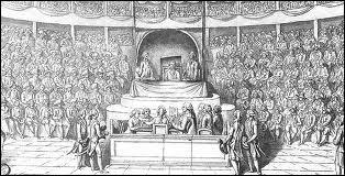 Le roi fut déclaré coupable de ces chefs d'accusation. Les députés devaient ensuite voter pour ou contre la peine de mort. 721 députés se sont exprimés. Pour être adoptée, la décision de la peine de mort devait obtenir la majorité absolue qui est de 361. Combien de députés se sont finalement exprimés pour la peine de mort ?