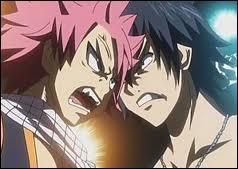 Grey a-t-il déja gagné contre Natsu étant petit ?