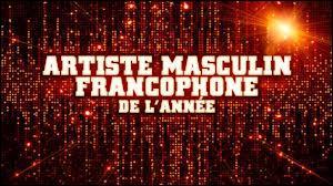 Question Nrj Music Awards 2014 : Le quel est nominé dans la catégorie artiste masculin francophone de l'année ?