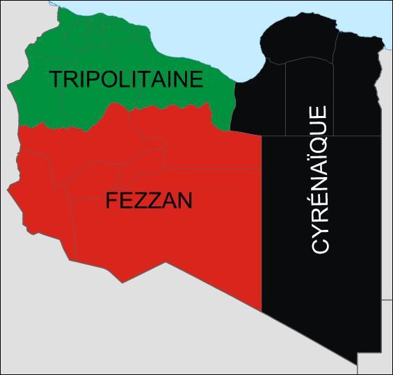 Quel état d'Afrique vit le Fezzan, sa partie Sud-Ouest, contrôlée par la France de 1943 à 1951 ?