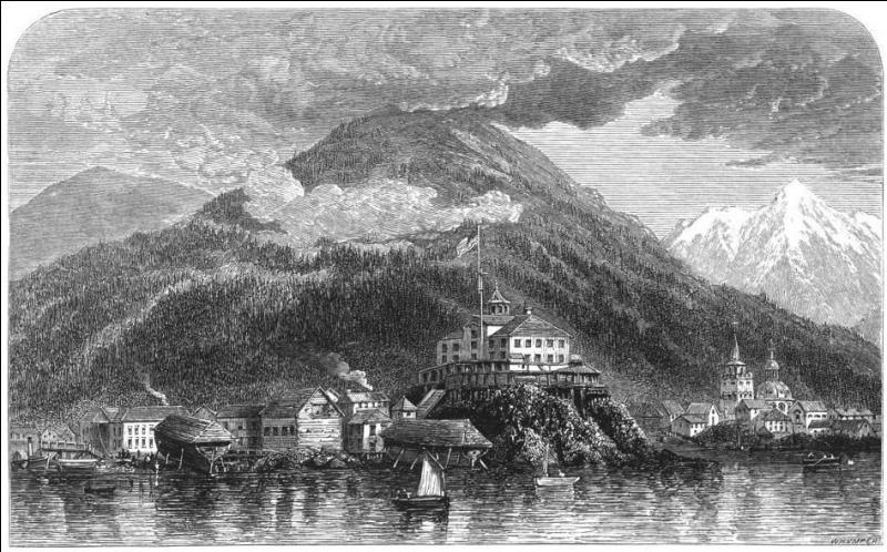 A quel état appartenait l'Alaska de 1784 à 1867 ?
