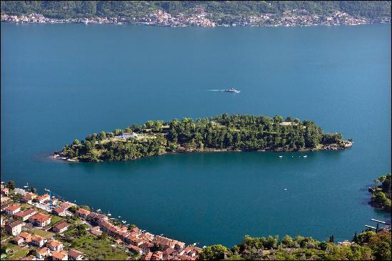 Pourquoi l'Île Comacina, en Italie, a t-elle appartenu à la Belgique durant un an ?