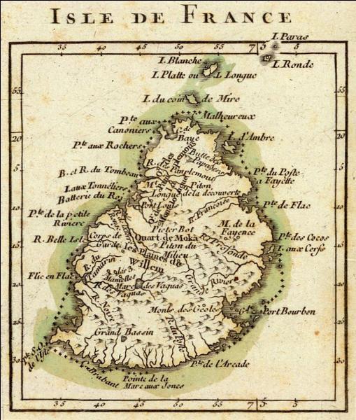 Qui colonisa l'Île Maurice de 1598 à 1710 ?