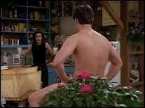 Combien de fois se met-il tout nu dans l'appartement de Monica ?