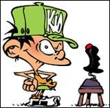 Restons chez les jeunes protagonistes avec Kid Paddle ! Dans les jeux vidéo auxquels il joue, il lutte souvent contre les mêmes créatures. Comment les nomme-t-il ?