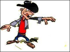 Au fil de ses aventures, Lucky Luke croise beaucoup de personnalités inspirées de la réalité. Qui est celle représentée sur cette illustration ?