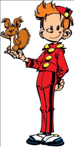 Vous connaissez sans doute ce personnage. Oui, il s'agit effectivement de Spirou, mais connaissez-vous le nom de son écureuil ?