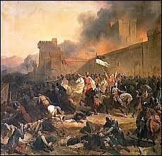 Quelle ville, dont le siège fut légendaire, a été prise par les chrétiens en 1097 ?