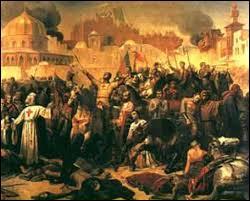 Quel seigneur s'illustra pendant la prise de Jérusalem en 1099 ?