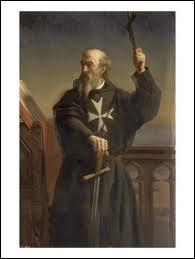 Quel ordre de moines-soldats fut créé en 1048 pour soigner les pélerins chrétiens sur la Terre Sainte ?