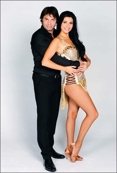 Christophe Dominici danse avec ... .