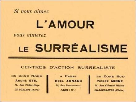 Pour André Breton, l'amour est...