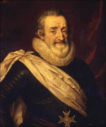 Je nais Henri de Bourbon le 13 décembre 1553 à Pau, roi de Navarre (1572 à 1610 ) et roi de France (1589 à 1610 ), je suis le premier roi de la branche des Bourbons, confronté aux guerres de religion, je suis obligé en tant que chef protestant de me convertir au catholicisme pour accéder au trône. Je suis assassiné le 14 mai 1610 à Paris par un dénommè François Ravaillac (un illuminé), je suis...