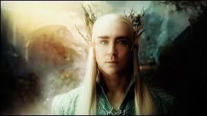 Qui joue le rôle du père de Legolas, Thranduil ?
