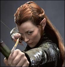Qui joue la magnifique elfine, Tauriel ?