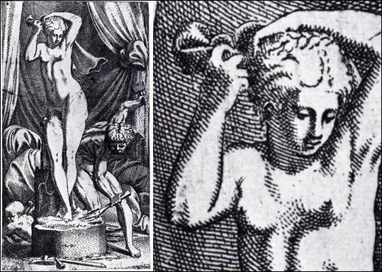 De qui le sculpteur Pygmalion tomba-t-il amoureux ?