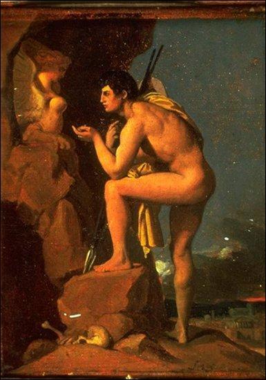 À qui Œdipe fut-il confié à sa naissance dans l'espoir qu'il pût échapper à la terrible prédiction de l'oracle de Delphes ?