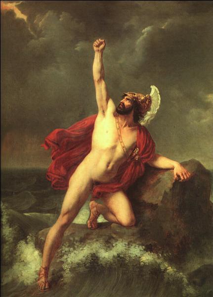 Comment  Ajax le grand  mourut-il à la suite de la violente humiliation conçue après avoir été défait par Ulysse ? Ce dernier le priva de l'armure d'Achille.