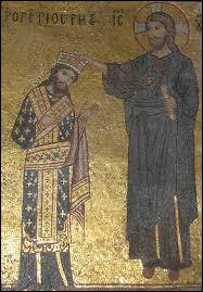Qui est ce personnage qui a été couronné par le Christ en personne ?
